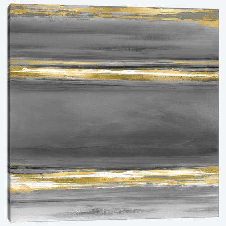 Parallels In Grey Canvas Print #CRB16} by Allie Corbin Canvas Print