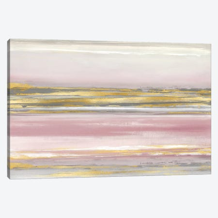 Subtle Reflections With Blush Canvas Print #CRB19} by Allie Corbin Canvas Artwork
