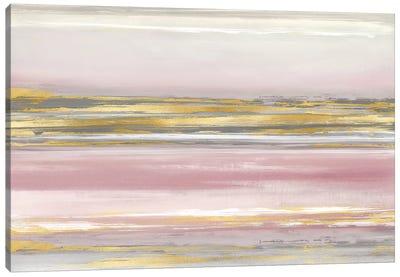 Subtle Reflections With Blush Canvas Art Print