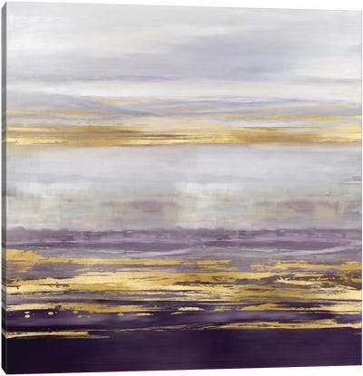 Amethyst Reflections I Canvas Art Print