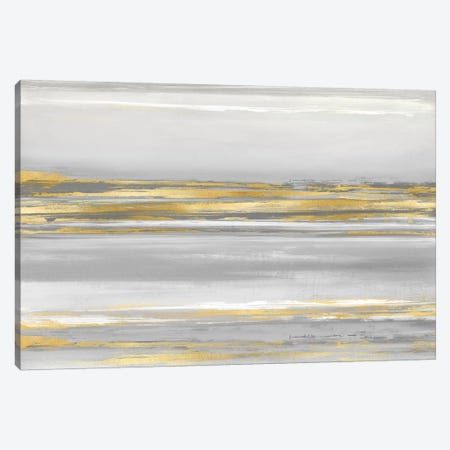 Subtle Reflections With Grey Canvas Print #CRB20} by Allie Corbin Art Print