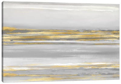 Subtle Reflections With Grey Canvas Art Print
