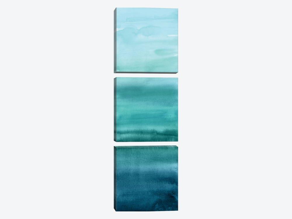 Cerulean Blend by Allie Corbin 3-piece Canvas Art Print