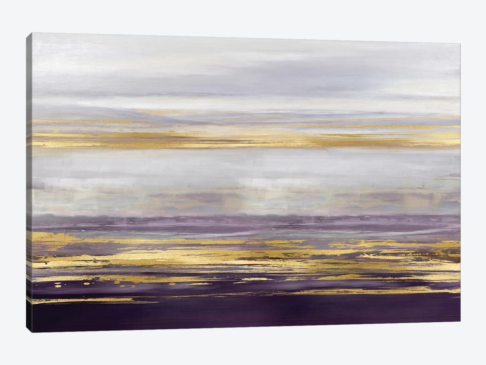 Amethyst Reflections II by Allie Corbin 1-piece Canvas Art Print