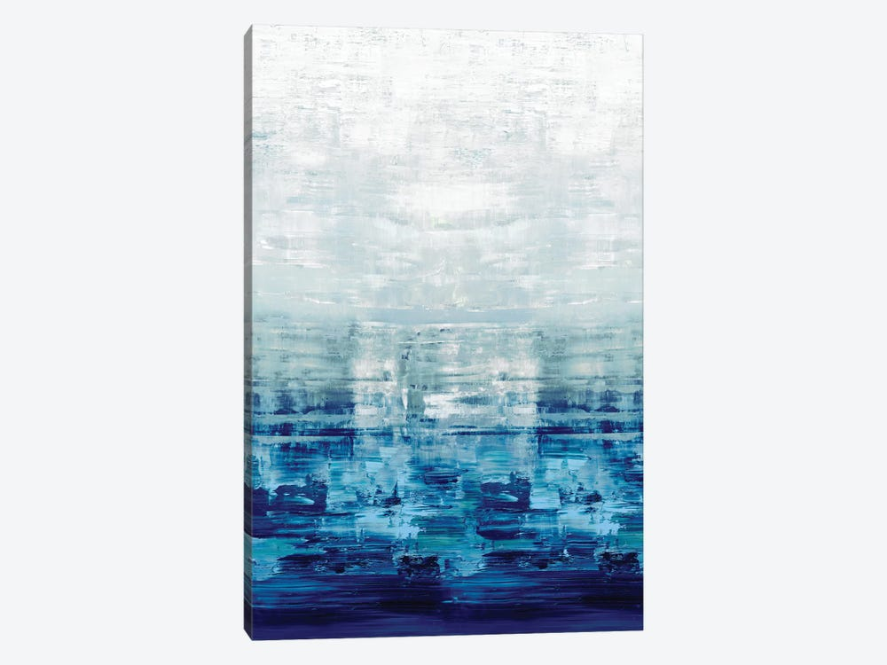 Blue Reflections by Allie Corbin 1-piece Canvas Art Print