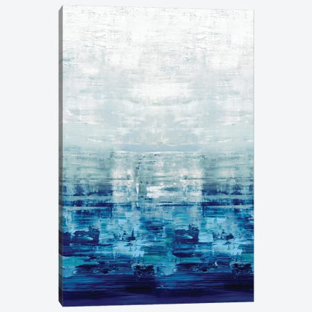 Blue Reflections Canvas Print #CRB6} by Allie Corbin Canvas Wall Art