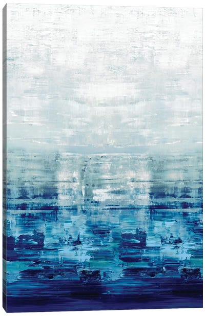 Blue Reflections Canvas Art Print