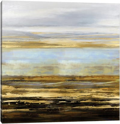 Golden Reflections Canvas Art Print