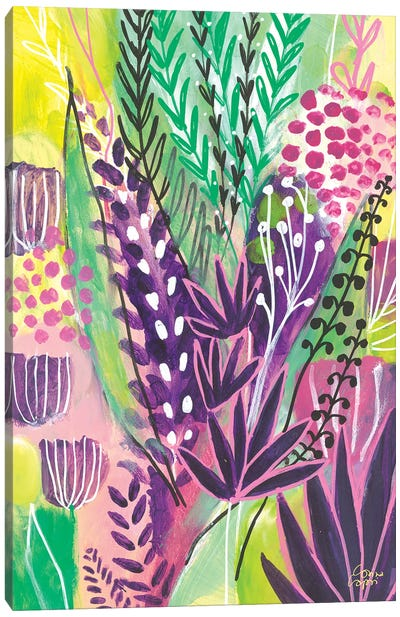 Lavender Love Canvas Art Print