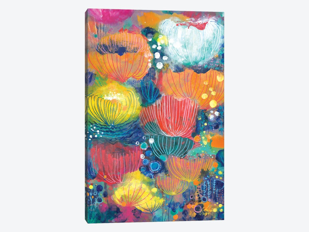 Song Of The Water Lilies by Corina Capri 1-piece Canvas Art Print