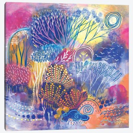 Spring Lights Canvas Print #CRC12} by Corina Capri Canvas Art Print