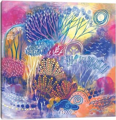 Spring Lights Canvas Art Print
