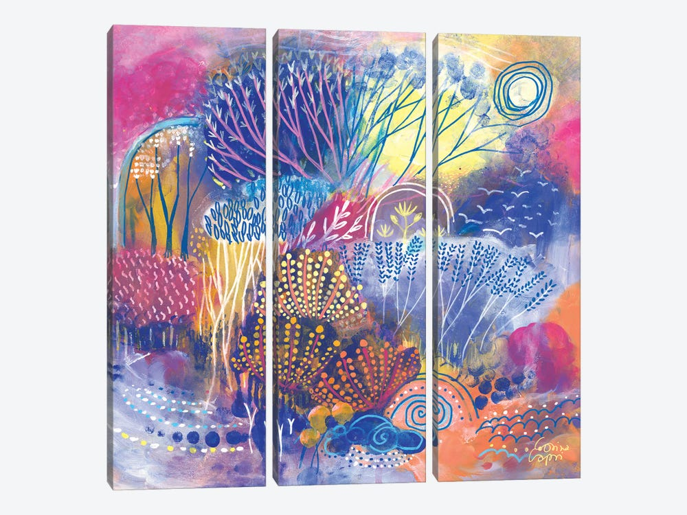 Spring Lights by Corina Capri 3-piece Canvas Wall Art