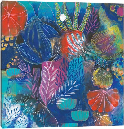 A Coral Song Canvas Art Print