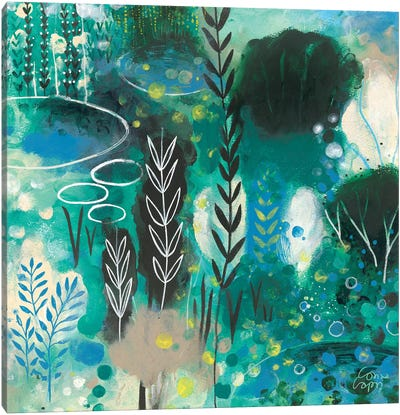Silently Canvas Art Print
