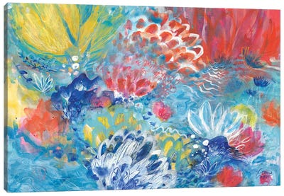 Lotus Rising Canvas Art Print
