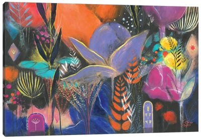Mumbay Afternoon Canvas Art Print
