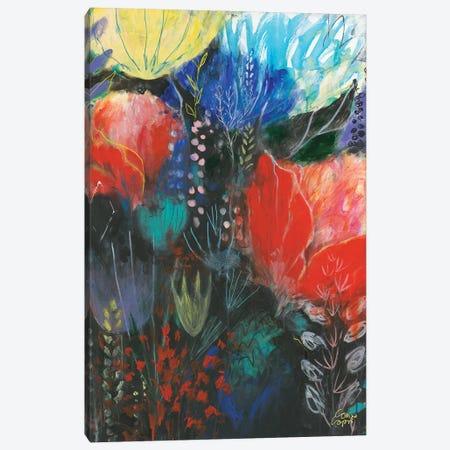Nuit Rouge Canvas Print #CRC23} by Corina Capri Canvas Wall Art