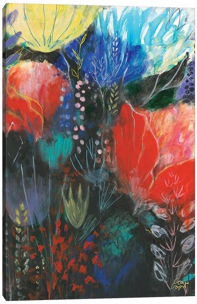 Nuit Rouge Canvas Art Print
