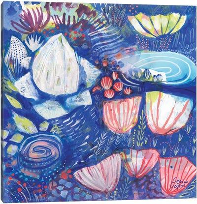 A Coral Song II Canvas Art Print
