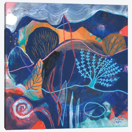 Walking On Monday Canvas Print #CRC28} by Corina Capri Canvas Artwork