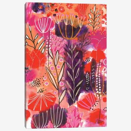 Floral Celebration Canvas Print #CRC3} by Corina Capri Canvas Art