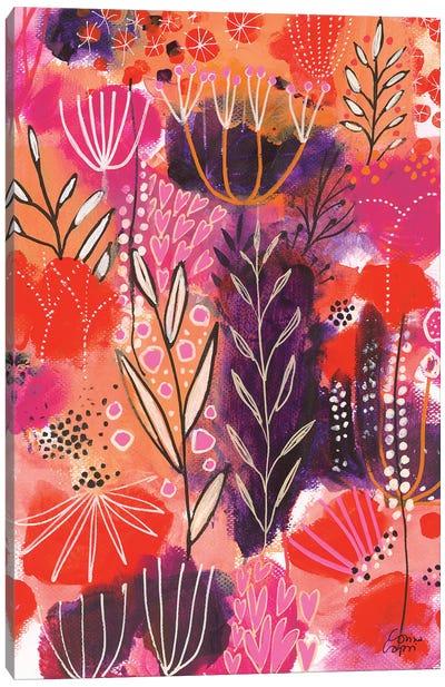 Floral Celebration Canvas Art Print