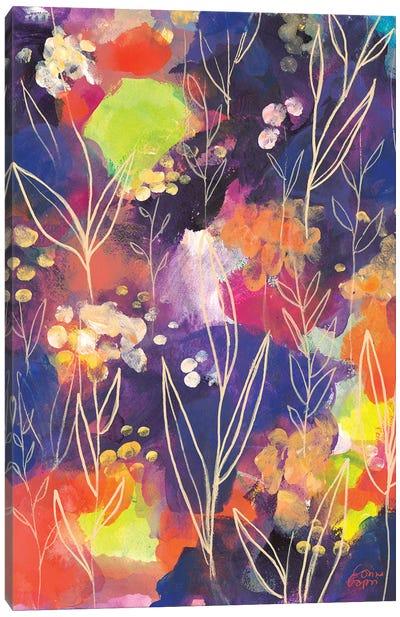 Golden Lights Canvas Art Print