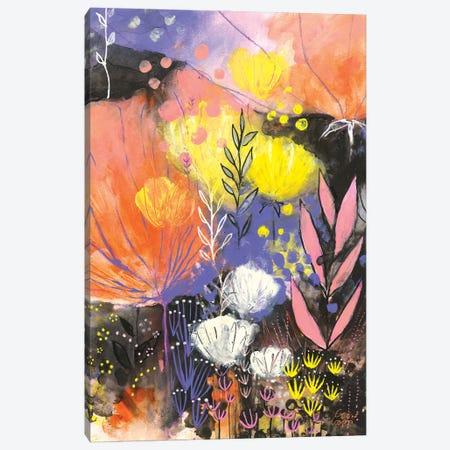 Disco Garden Canvas Print #CRC5} by Corina Capri Canvas Art Print