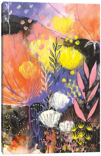 Disco Garden Canvas Art Print