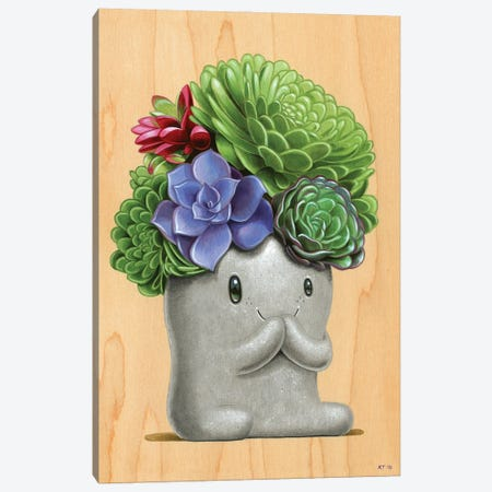 Bloom Canvas Print #CRG11} by Cuddly Rigor Mortis Canvas Print