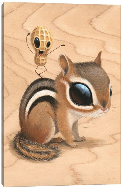 Chippy Canvas Art Print
