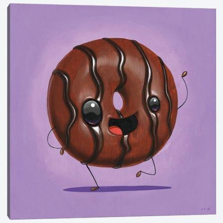 Chocochoco Canvas Print #CRG18} by Cuddly Rigor Mortis Canvas Print