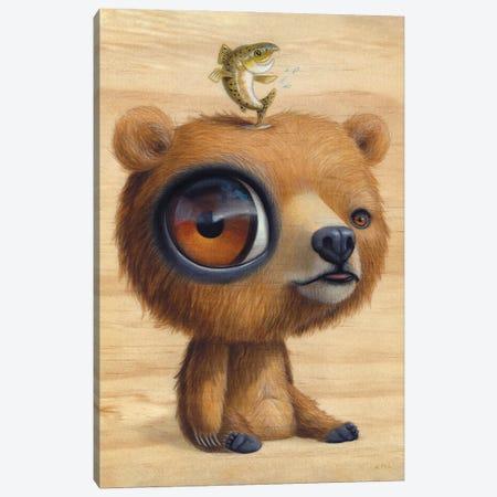 Gwizzly Canvas Print #CRG42} by Cuddly Rigor Mortis Canvas Art