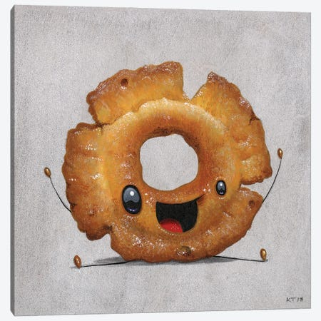 Jasper Canvas Print #CRG49} by Cuddly Rigor Mortis Canvas Art
