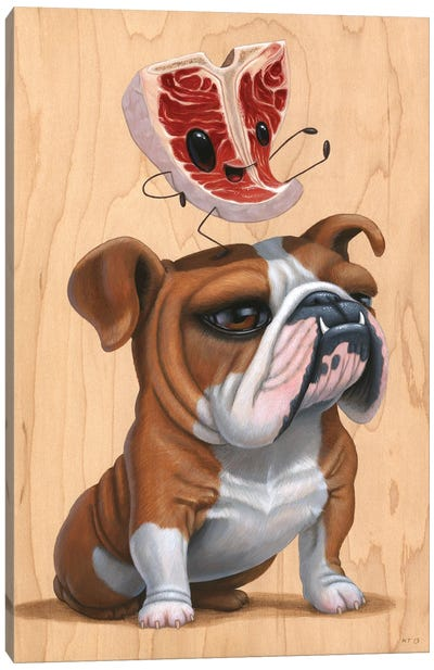 Meathead Canvas Art Print