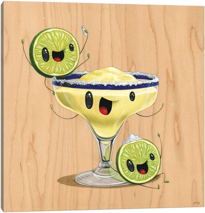 Mr. Margarita And The Twins Canvas Art Print