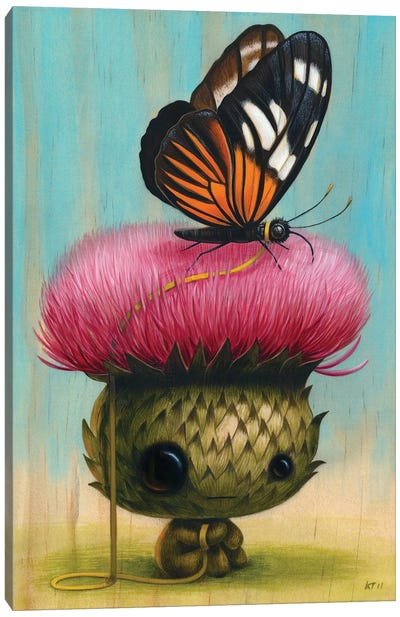 Mr. Mcprickles Canvas Art Print