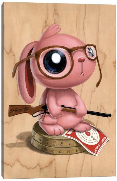 Pink Nightmare Canvas Art Print