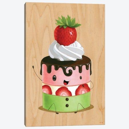 Pinku Midori Canvas Print #CRG87} by Cuddly Rigor Mortis Art Print