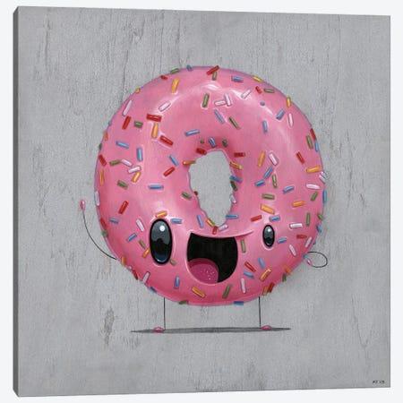 Pinky Canvas Print #CRG88} by Cuddly Rigor Mortis Canvas Wall Art