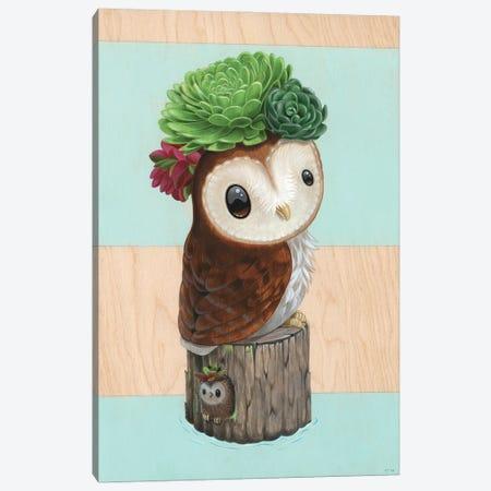 Pip N' Fluff Canvas Print #CRG89} by Cuddly Rigor Mortis Canvas Art