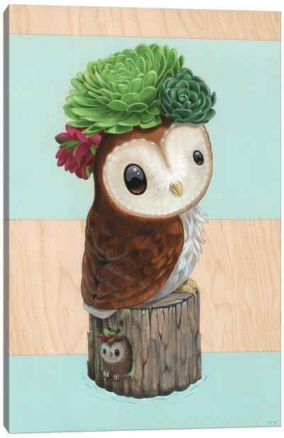 Pip N' Fluff Canvas Art Print
