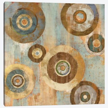 In The Round II Canvas Print #CRI3} by Cam Richards Canvas Wall Art