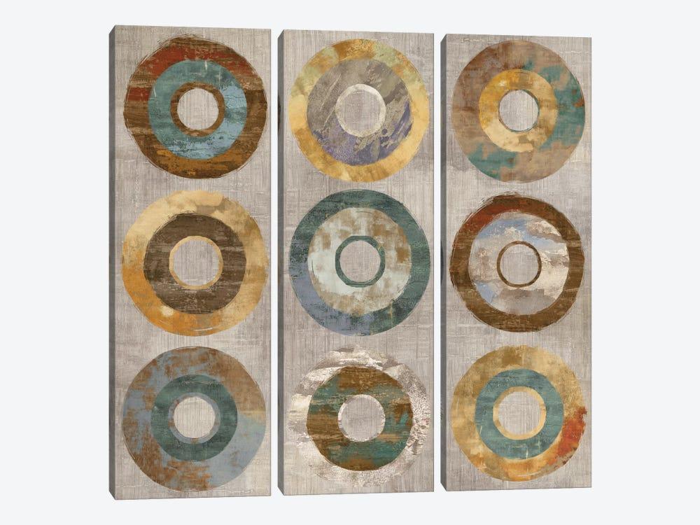 Revolve by Cam Richards 3-piece Canvas Artwork