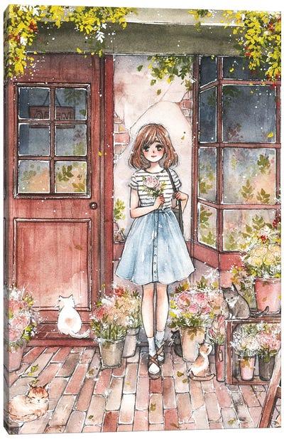 Flower Shop Canvas Art Print
