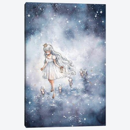 Follow Me To The Stars Canvas Print #CRK15} by Cherriuki Canvas Artwork