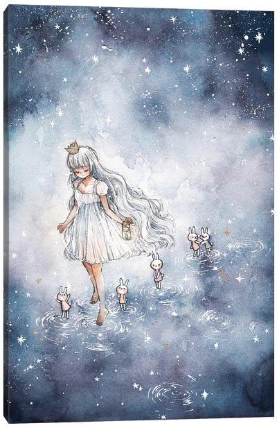 Follow Me To The Stars Canvas Art Print
