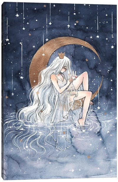La Lune Canvas Art Print