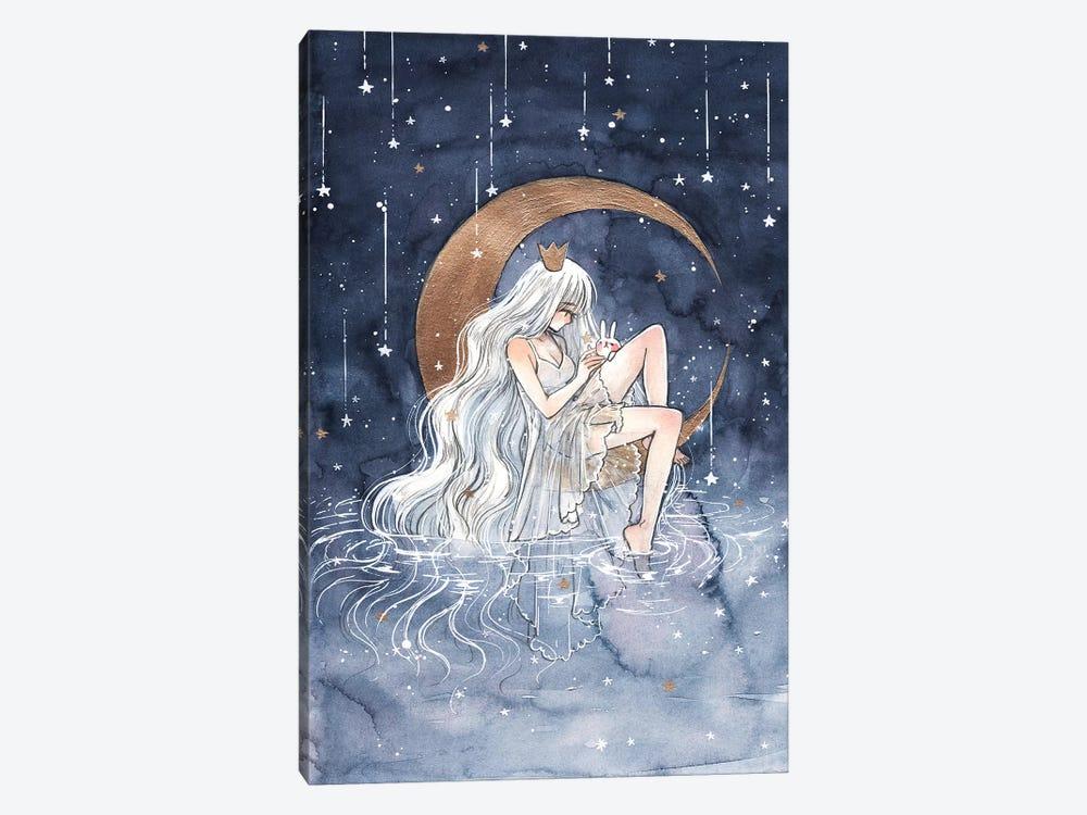 La Lune by Cherriuki 1-piece Art Print